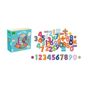 6704 Speelgoedwinkel Daantje Vilac houten magneten cijfers