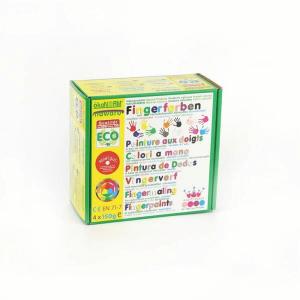 79063 Speelgoedwinkel Daantje oekonorm vier kleuren vingerverf roze