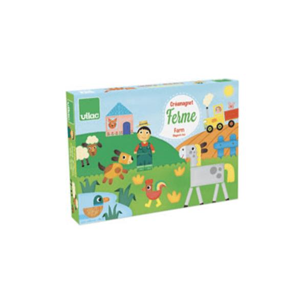 8029 Speelgoedwinkel Daantje Vilac magneetspel boerderij speelgoed voor onderweg