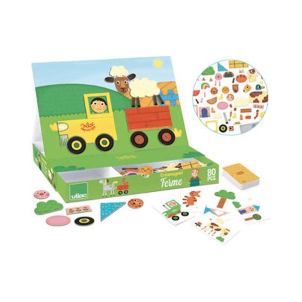 8029 Speelgoedwinkel Daantje magneetspel boerderij Vilac