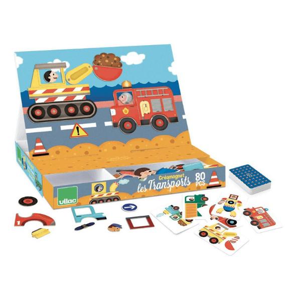 8030 Speelgoedwinkel Daantje Vilac magneetspel transport speelgoed voor onderweg