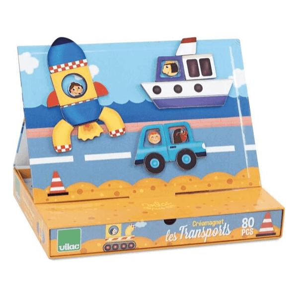 8030 Speelgoedwinkel Daantje Vilac transport magneetspel voorbeeld
