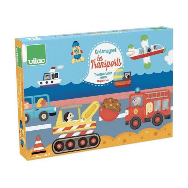 8030 Speelgoedwinkel Daantje houten magneetspel transport Vilac