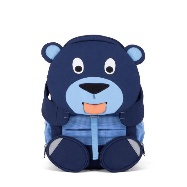 AFZ-FAL-001-003 Speelgoedwinkel Daantje kinderrugzak beer blauw 8 liter