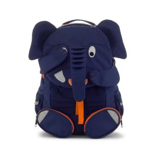 AFZ-FAL-002-002 Speelgoedwinkel Daantje stevige kinderrugzak Elias olifant blauw