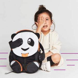 AFZ-FAL-002-004 Speelgoedwinkel Daantje Affenzahn kinderrugzak panda