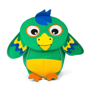 AFZ-FAS-001-019 Speelgoedwinkel Daantje vrolijke kinderrugzak piet papegaai