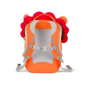 AFZ-FAS-002-002 Speelgoedwinkel Daantje kekke kinderrugzak leeuw oranje