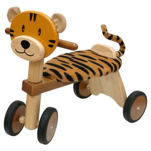 IM80006 Speelgoedwinkel Daantje houten loopfiets tijger