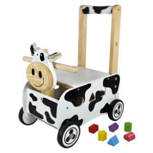Loopwagen koe