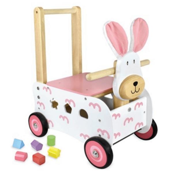 Loopwagen konijn