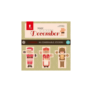 Speelgoedwinkel Daantje El Nan december stickers
