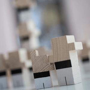 Speelgoedwinkel Daantje El Nan houten blokjes sfeerbeeld