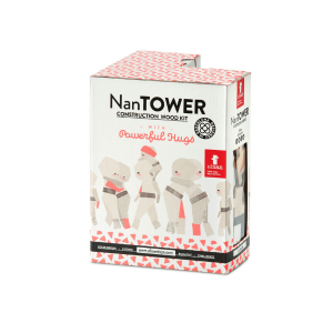 Speelgoedwinkel Daantje El Nan houten blokken naturel 34 stuks
