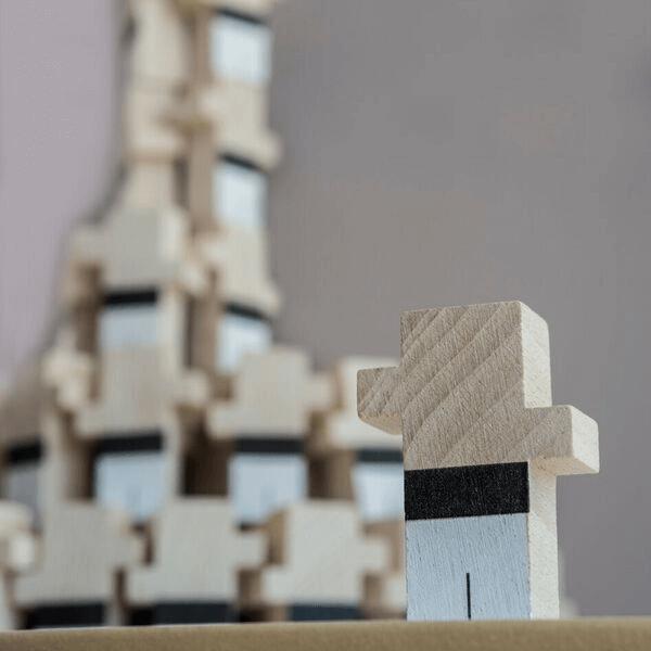 Speelgoedwinkel Daantje El Nan naturel houten blokjes sfeerbeeld