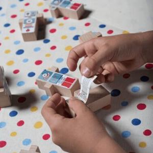Speelgoedwinkel Daantje El Nan stickers sfeerbeeld