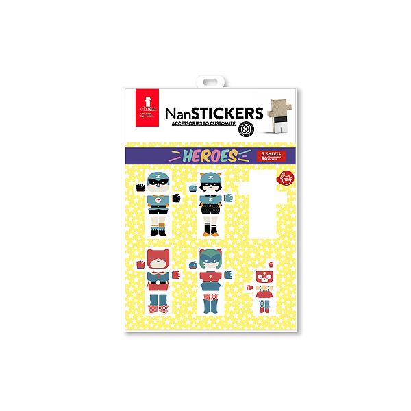 Speelgoedwinkel Daantje El Nan superhelden stickers