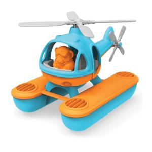 Speelgoedwinkel Daantje Green Toys helikopter blauw