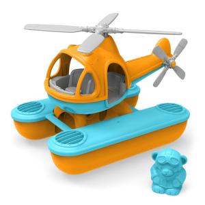 Speelgoedwinkel Daantje Green Toys helikopter oranje
