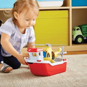 Speelgoedwinkel Daantje Green Toys speelgoedboot voor in bad