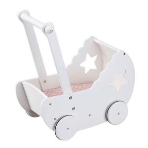Speelgoedwinkel Daantje Kids Concept houten poppenwagen wit
