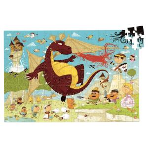 Speelgoedwinkel Daantje Vilac houten puzzel draak