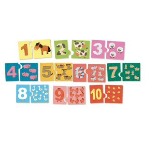 Speelgoedwinkel Daantje Vilac ik leer tellen houten spel