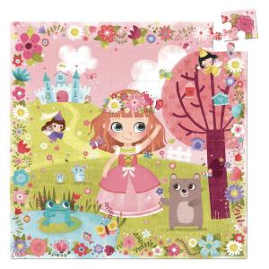 Speelgoedwinkel Daantje Vilac puzzel bloemenprinses