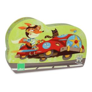 Speelgoedwinkel Daantje Vilac puzzel racewagens