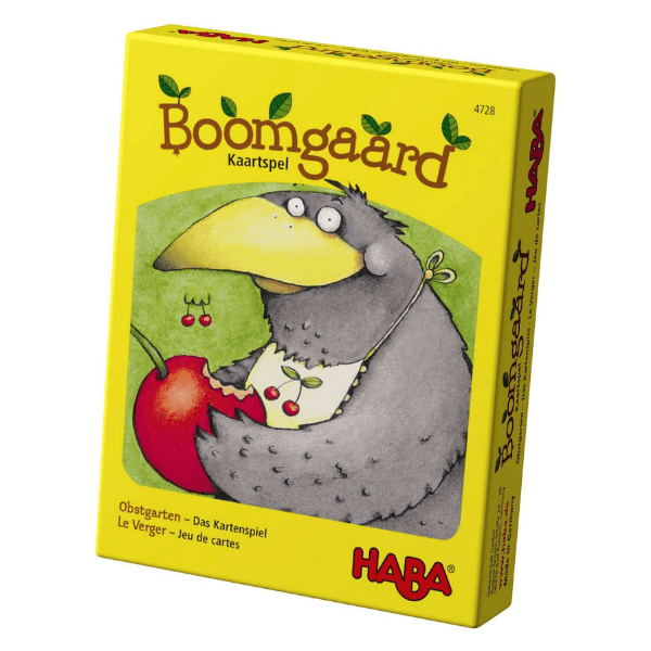 Speelgoedwinkel Daantje haba speelgoed kaartspel boomgaard