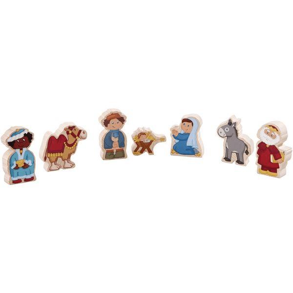 Speelgoedwinkel Daantje haba speelgoed kerststal houten figuren