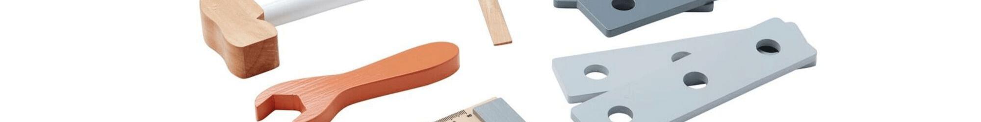 Speelgoedwinkel Daantje houten gereedschap kind