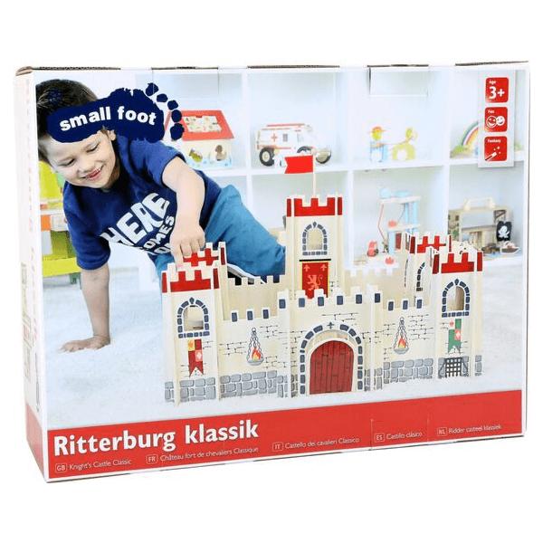 Speelgoedwinkel Daantje houten kasteel klassiek verpakking