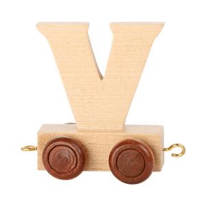 Speelgoedwinkel Daantje houten lettertrein blank V