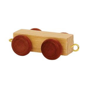Speelgoedwinkel Daantje houten lettertrein blank tussenstuk