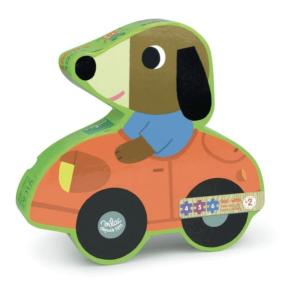 Speelgoedwinkel Daantje houten puzzel hond
