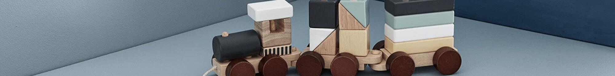 Speelgoedwinkel Daantje houten speelgoed blokken