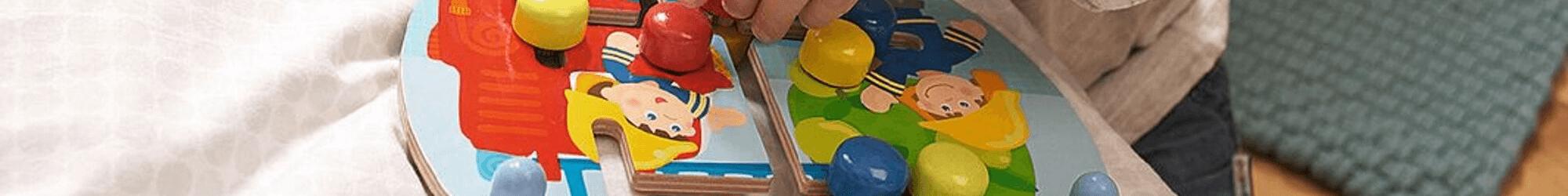 Speelgoedwinkel Daantje houten speelgoed motoriekbord