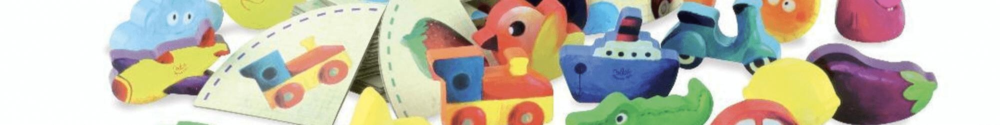 Speelgoedwinkel Daantje houten speelgoed vormen en sorteren