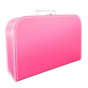 Speelgoedwinkel Daantje kinderkoffertje roze 35 cm