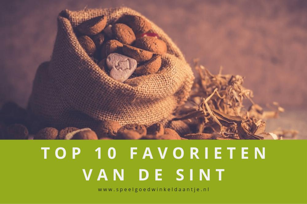 Top 10 favorieten van de sint bij Speelgoedwinkel Daantje