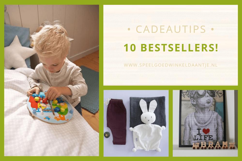 10 bestsellers uit de webshop