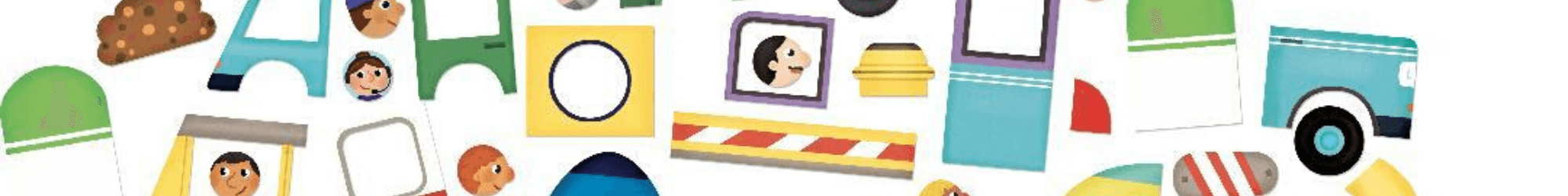 Magnetische auto's en speelgoed autos magneet Speelgoedwinkel Daantje