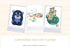 Sinterklaas cadeau voor kind van 4 jaar
