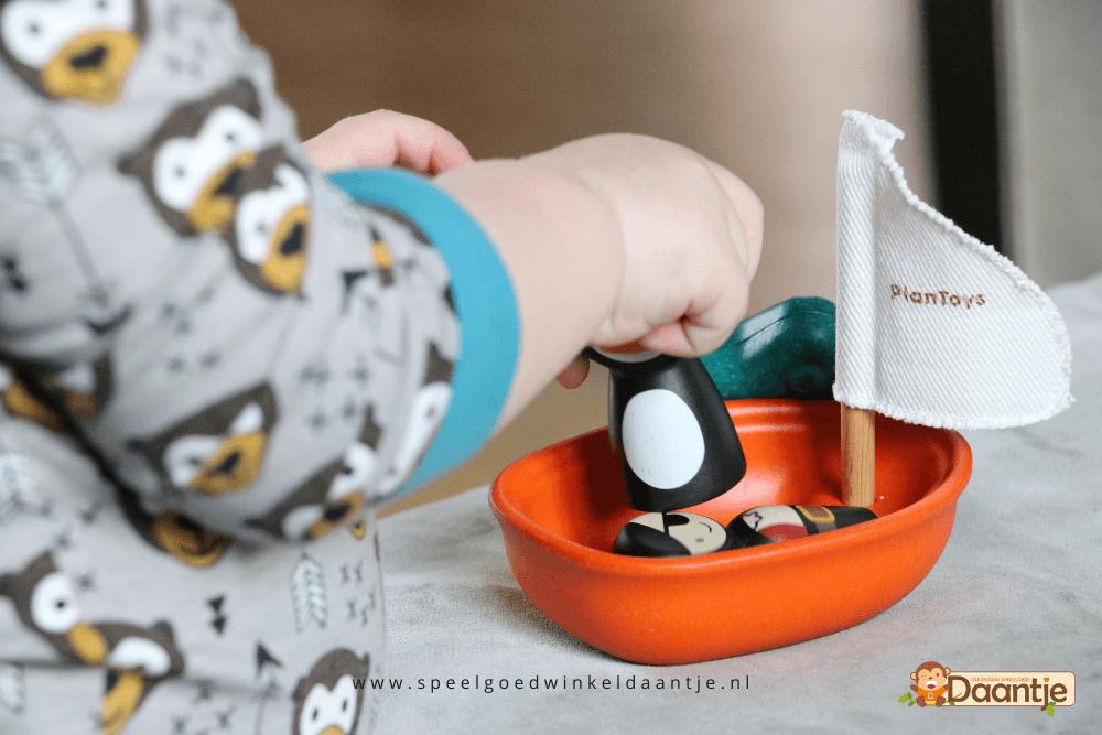 Houten speelgoed merken